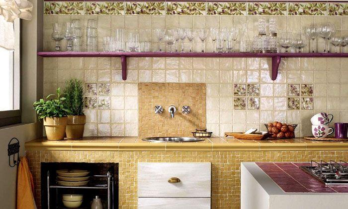Керамическая плитка сохраняет целостность и внешний вид после многократной очистки