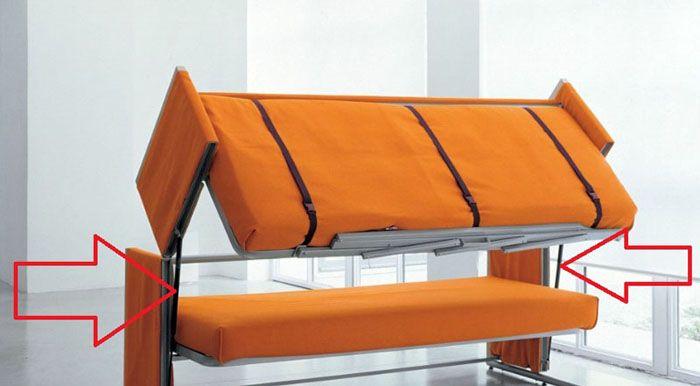 В некоторых моделях для плавного перемещения частей конструкции применяют газовые подъёмники («газлифты»)
