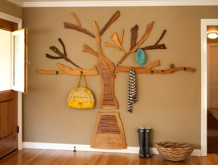 Хоть дерево считается классическим материалом, выдумщики-дизайнеры не боятся экспериментировать с формами изделий