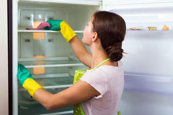 Даже новые холодильники нужно тщательно мыть