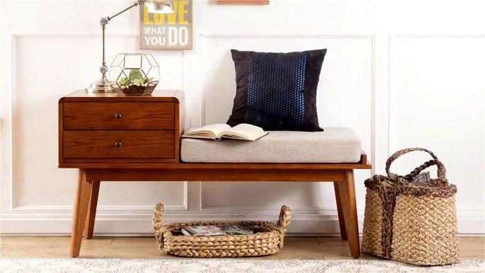 Простота форм и практичность − деревянная мебель для долгого срока службы