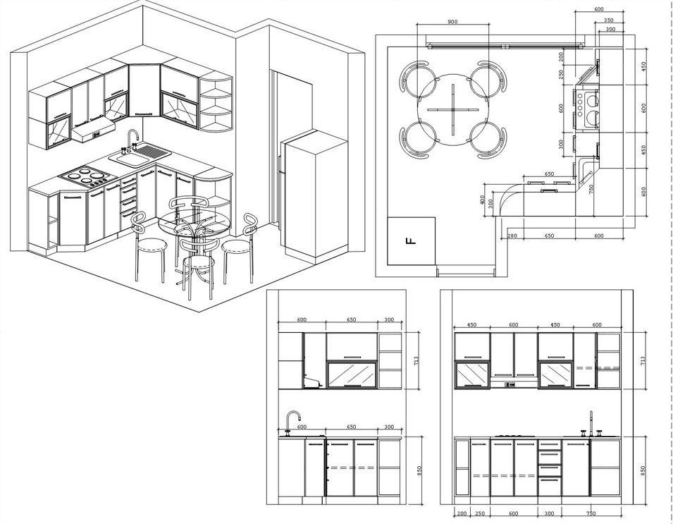Правильно подготовленный набор чертежей пригодится для уточнения параметров сборки, оценки эксплуатационных характеристик