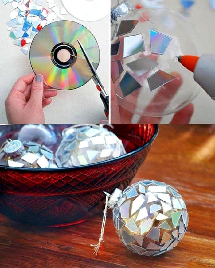 35-10 Какие поделки из дисков можно сделать своими руками? 100 радужных идей