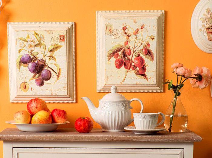 Картины для кухни в стиле прованс
