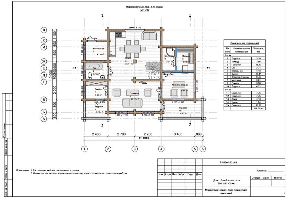 На планах комнат можно экспериментировать с расстановкой мебели, оборудования, проверять удобство проходов