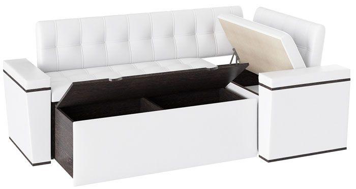 Кроме выдвижных конструкций, применяют ящики с открывающейся крышкой-сиденьем