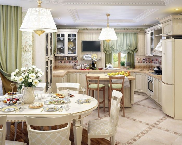 «Остров» предназначен для быстрых завтраков, стол – для торжественных мероприятий, семейных обедов и ужинов