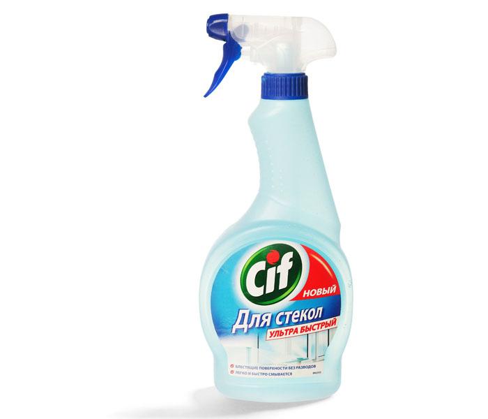 «Cif» — прекрасно и без следа отмывает загрязнения