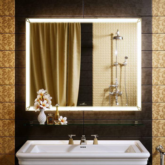 Есть даже функция подогрева у некоторых моделей — такие настенные полотна размещают в ванной, конденсат не скапливается на зеркальной поверхности, и ничто не мешает любоваться собой