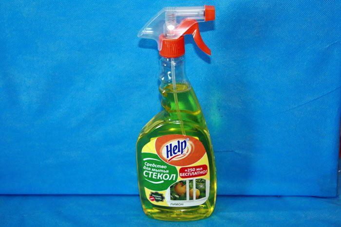 «Help» защитит окошки от пыли, не оставит разводов и радужного блеска