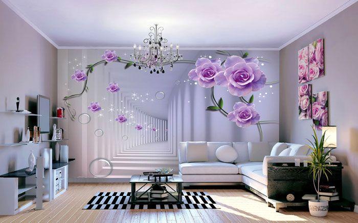 Одиночные картинки ориентированы на эффект от крупных элементов и располагаются на одной стене