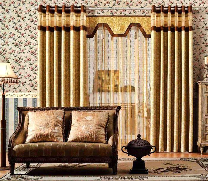 Идеально для тяжёлого текстиля и солидного дизайна квартиры