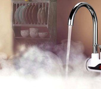 Электрический проточный кран-водонагреватель