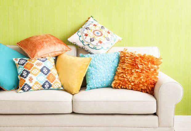 Декоративные подушки своими руками: фото
