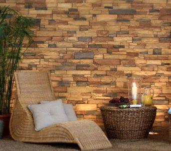 Декоративный искусственный камень в интерьере: цена, фото