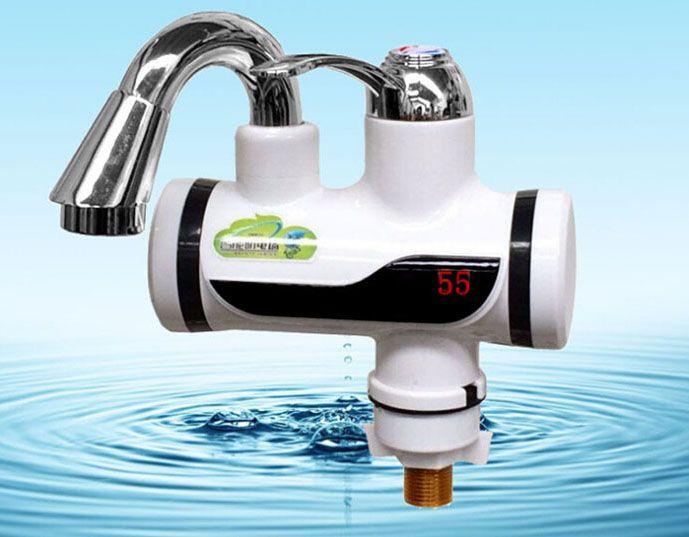 Модели премиального сегмента оснащаются ЖК-дисплеем, информирующим о температуре подаваемой воды