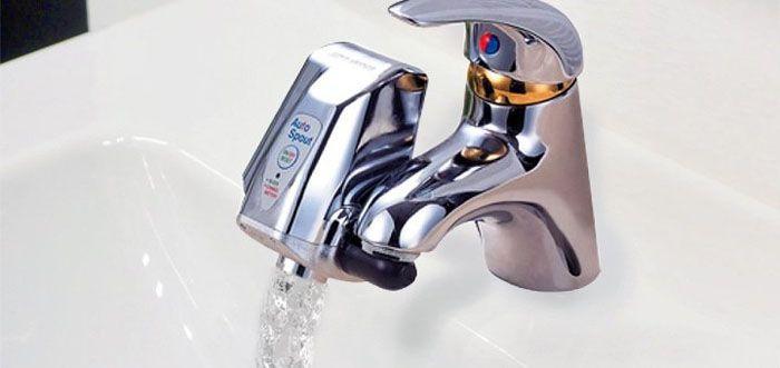 Насадка-нагреватель воды на кран