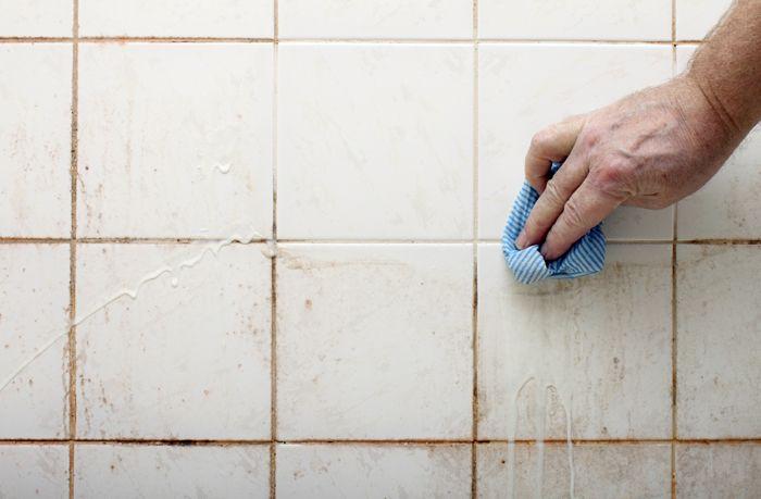 Kак почистить швы между плиткой в ванной