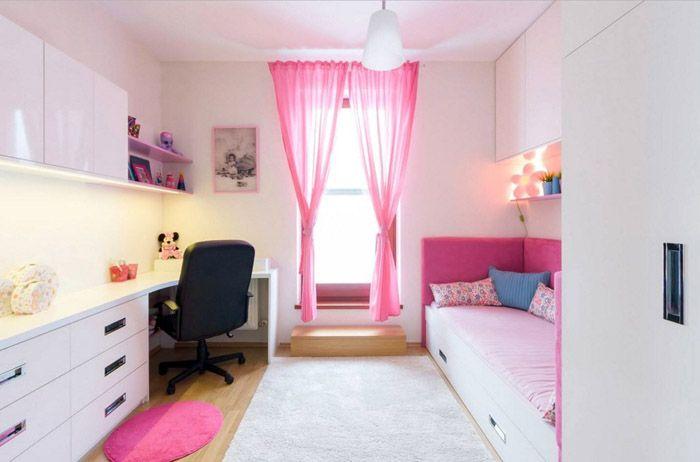 Детскую мебель для спальни для девочекприобретают с учётом возраста
