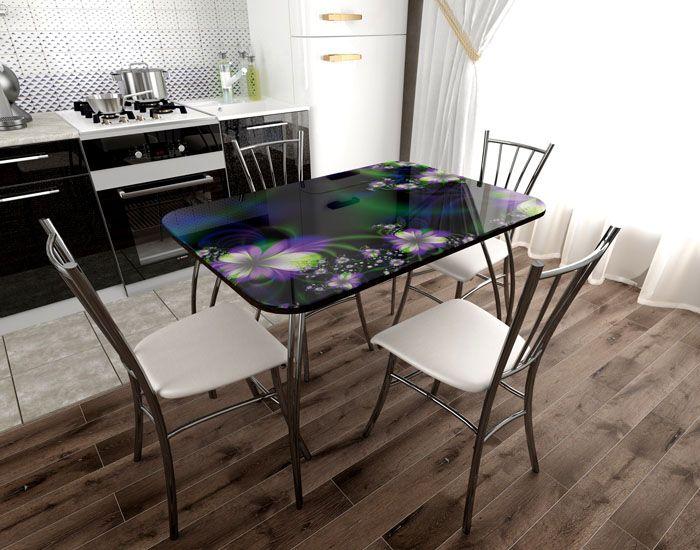 Столик подбирают согласно дизайну помещения