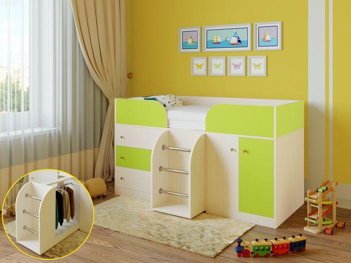 Кровать-чердак нравится большинству детей