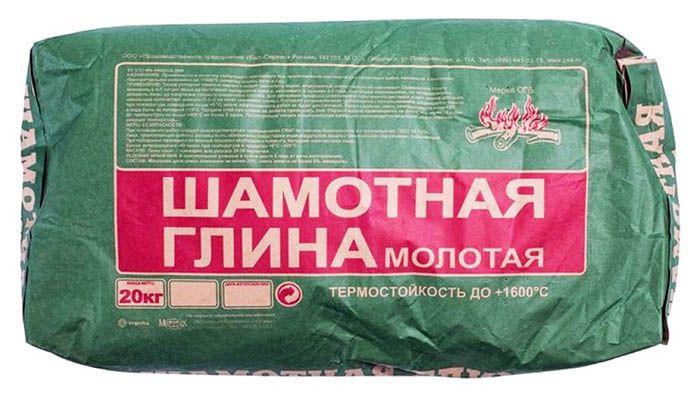 Спрашивайте у продавцов шамотную глину, этот материалявляетсясамым подходящим для наших целей