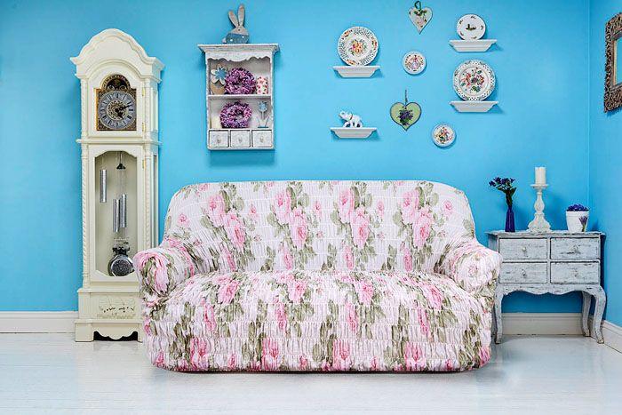 Нежная расцветка с цветочным узором будет выглядеть неуместно в стиле хай-тек, зато запросто украсит собой прованс или кантри