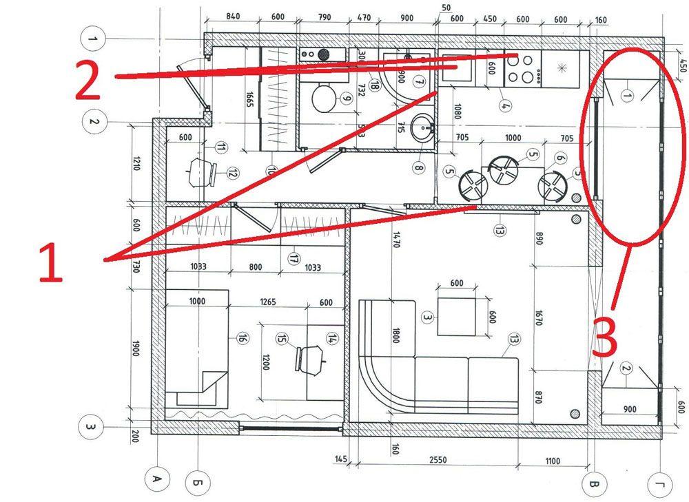 Подготовьте план объекта недвижимости с точными размерами