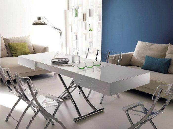 Журнальный/обеденный стол в комплекте со складными стульями