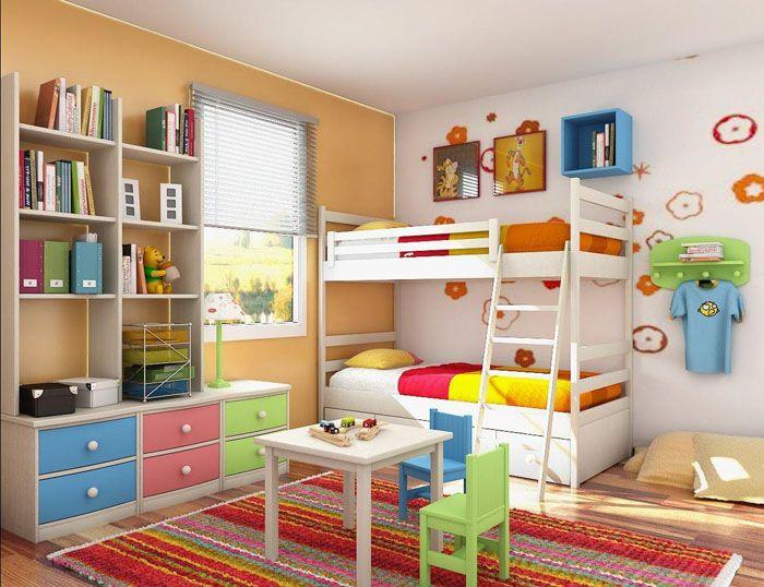 Игровую зону обычно располагают в пространстве общего доступа посередине комнаты