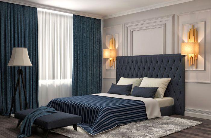 Плотная ткань отлично послужит для регулировки микроклимата в комнате