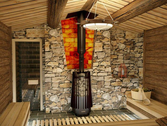 Устройства в заводском исполнении оснащаются дверцами из огнеупорного стекла и выглядят весьма привлекательно