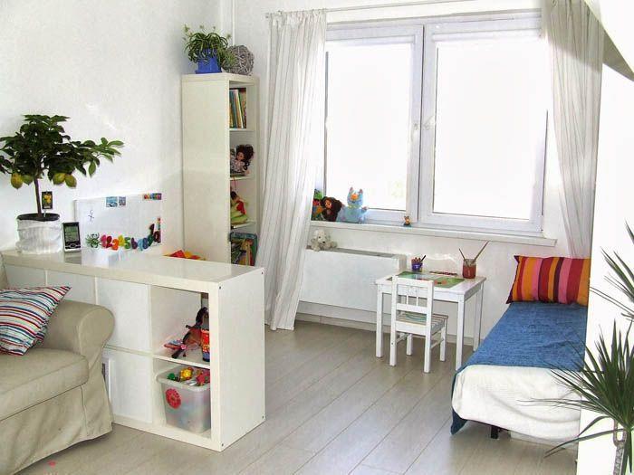 Белая мебель, как оказывается, очень легко вписывается в белый фон