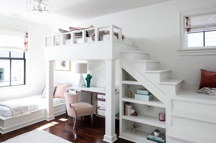 Белая мебель не вызывает ассоциации с больничной чистотой, только с уютом и комфортом