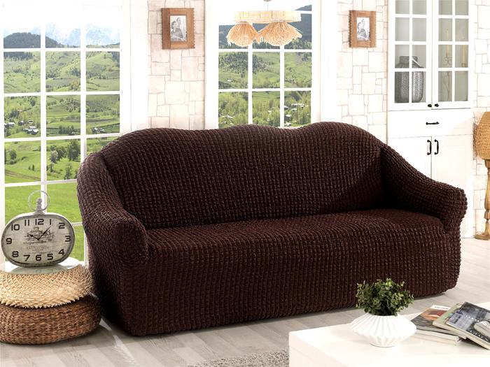 Так как ткань плотная, можно радикально поменять цвет мебели