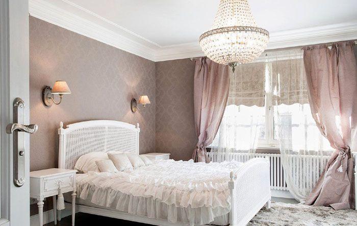 Спокойные нейтральные тона создают в спальне настоящую успокаивающую обстановку