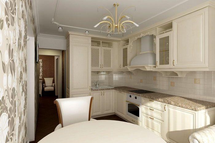 В едином стиле подбирают фасады, мягкую мебель, отделку, светильники