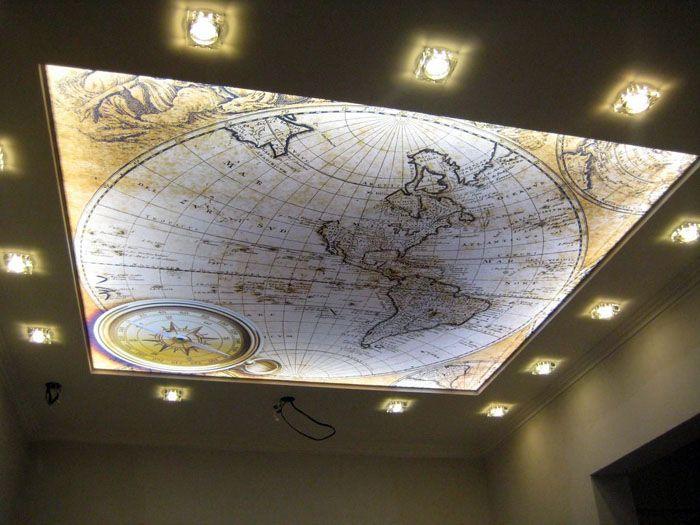 Всегда можно подобрать фотопечать на свой вкус. Изучать карту мира, присев на диван в зале? Пожалуйста!