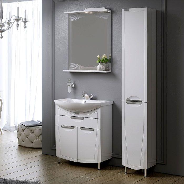 Привлекательный внешний вид, и всё под рукой: вот что такоезеркало в ванную с полочкой