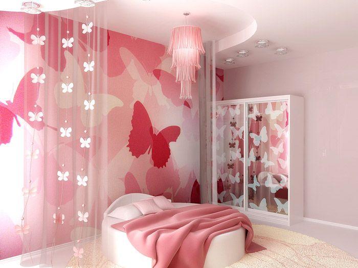 Розовый можно прекрасно разбавить другими цветами