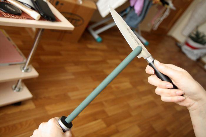 Для керамических ножей выпускаются специализированные мусаты