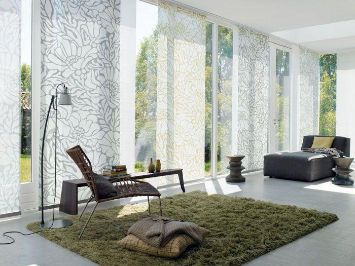 Шторы могут декорировать окно или служить ширмой