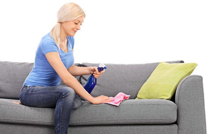 Для флока применяют мыльные растворы, слабые уксусные и нашатырные составы