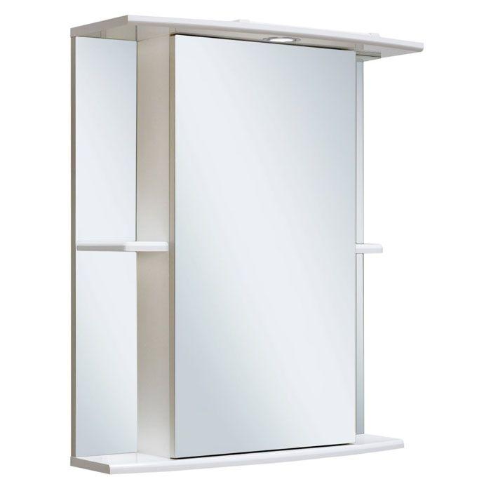 Полочки могут быть удобным дополнением и располагаться по одну или обе стороны шкафа