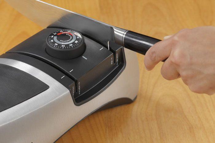 Электроточилка для ножей с изменяемым углом заточки «EdgeWare» (Германия)