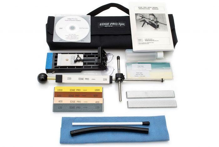 Точильный набор для заточки ножей Edge Pro Apex 4 Kit