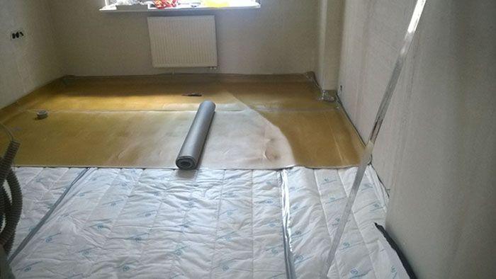 От правильной технологии выполнения работ зависит качество шумоизоляции изолируемого помещения
