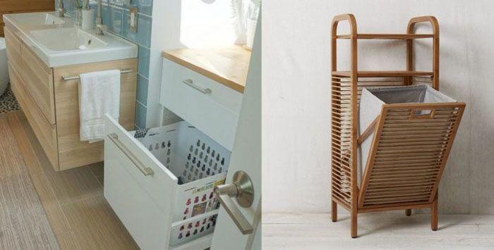 Встраиваемый вариант размещения удобен в том случае, если ванная комната имеет достаточную площадь для размещения различных предметов мебели
