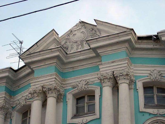 Раскрепованый вид конструкции – это вариант декоративного оформления фасада