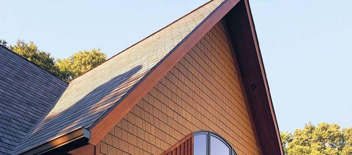 Конусообразная форма используется на зданиях, в которых несущие конструкции расположены близко по отношению друг к другу